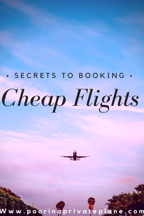 Secrets to Booking Cheap Flights