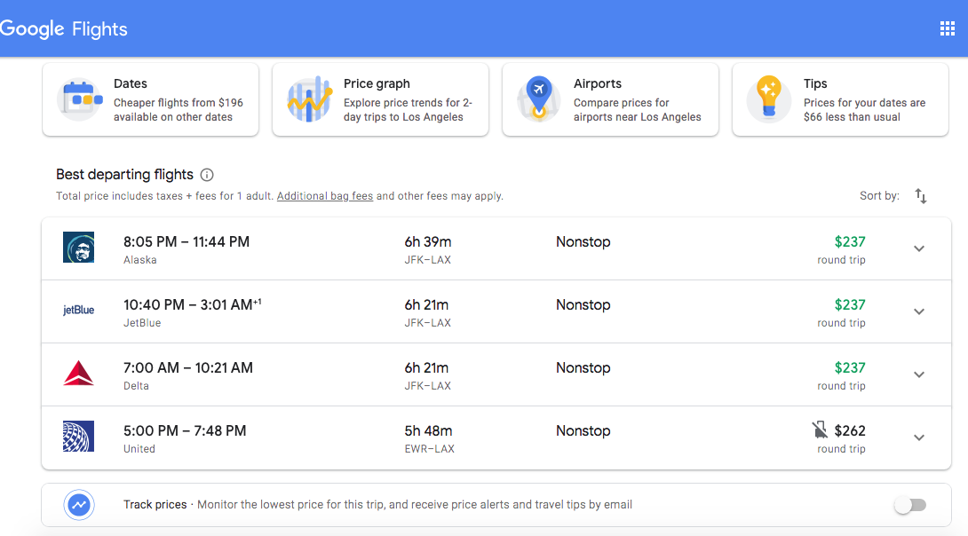 How To Set Google Flights Alerts