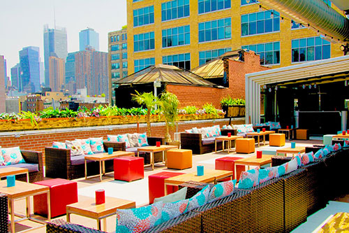 rooftop happy hours NYC- Cantina Rooftop