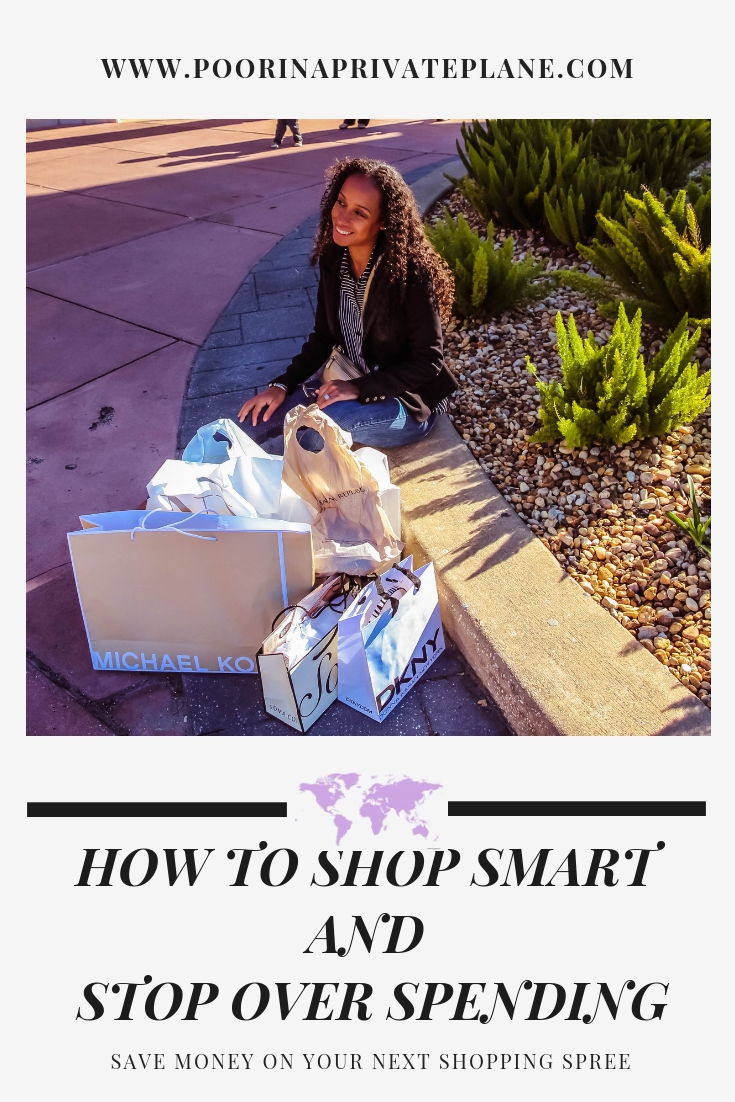 How to Shop Smart and Stop Over Spending.  Tips to keep in mind the next time you go shopping that will help you save money.