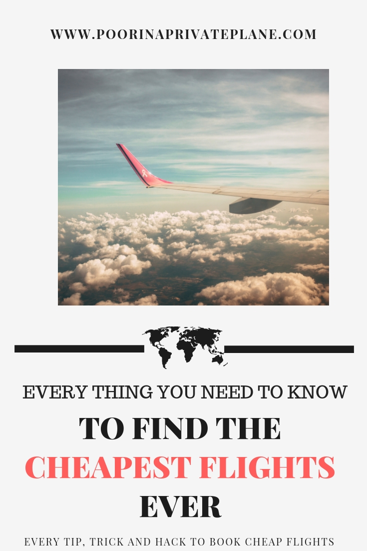 How to Find Cheap Flights. Tips, Trick and Hacks to get the cheapest flights to Europe, Florida and Everywhere in the World. The best websites to use and How to book the best deals.