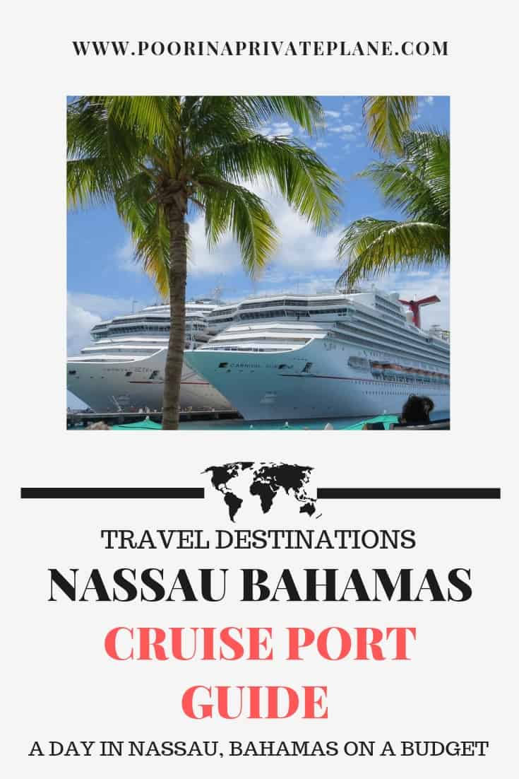 Looking for things to do on a budget in Nassau Bahamas. This guide features free beaches, things to do within walking distance of the port and DIY shore excursions.