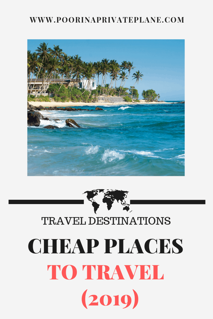Looking for the next best cheap travel destinations in 2019. We have you covered. From beaches to mountains there is something for everyone. Join us as we journey around the world. All on a budget of course #budgettravel #traveldestinations #cheaptravel
