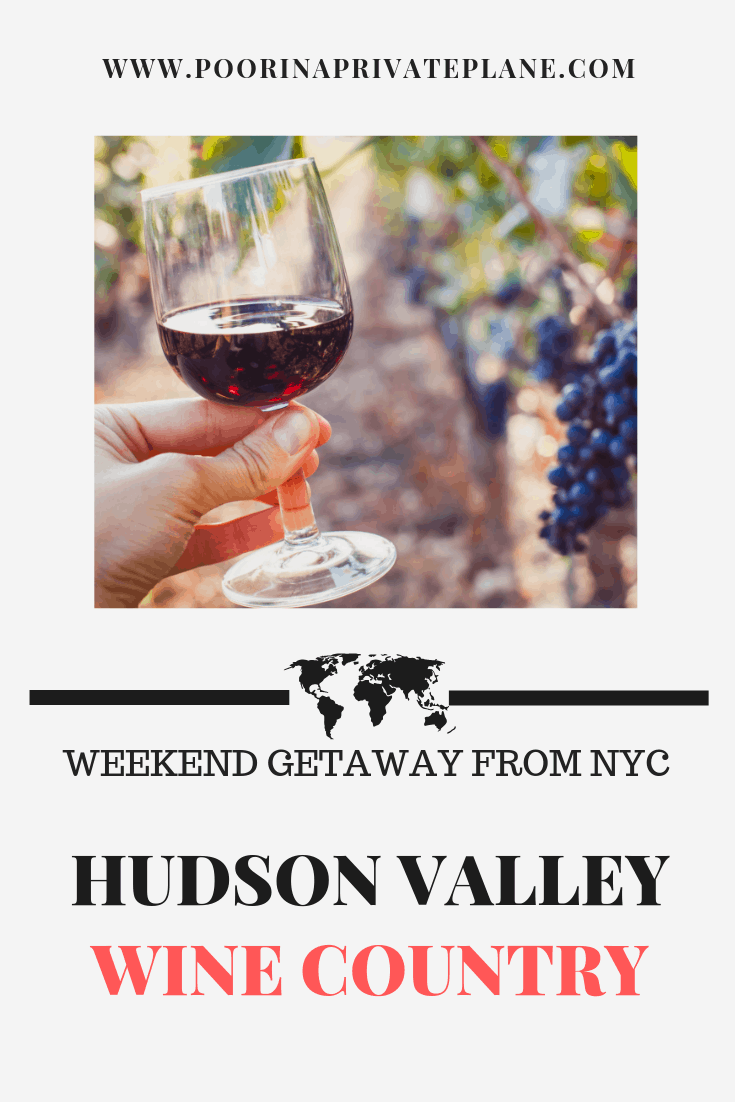Looking for a weekend getaway just outside of NYC. Let me introduce you to the Hudson Valley. So many things to do including wine tasting, hiking and shopping.