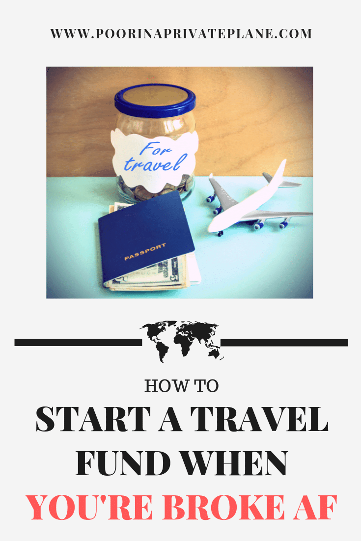 Saving for Travel doesn't have to be hard. With these steps you will be saving money to travel in no time. Even if you're broke AF