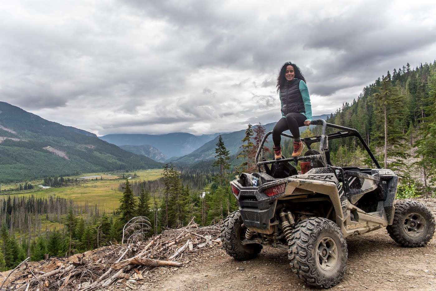 Things to do in Whistler, BC: RZR Off Roading