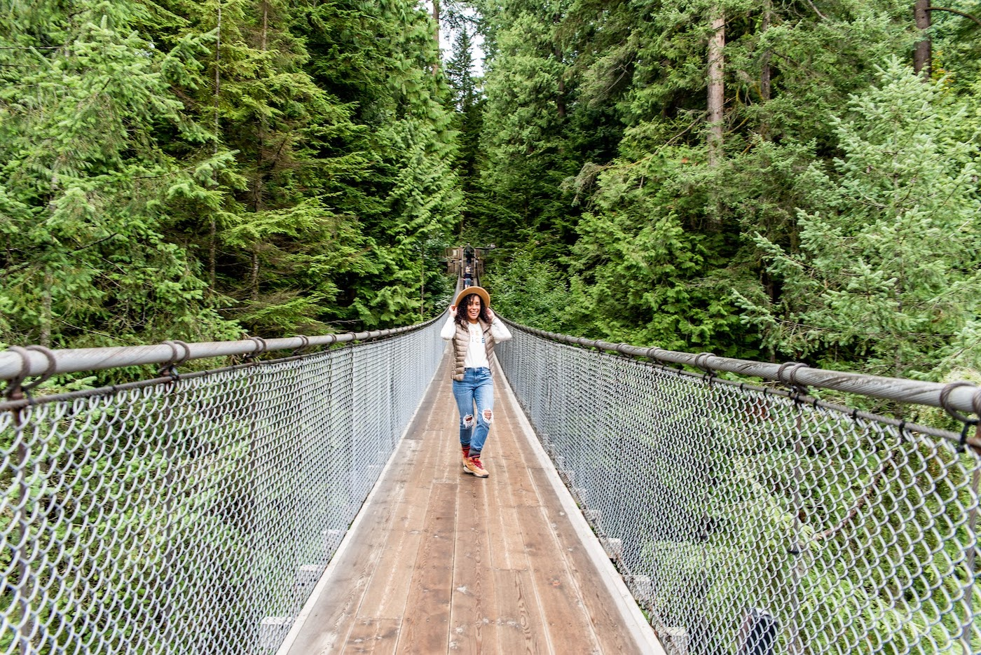 Vancouver Itinerary Capilano Suspension Bridge
