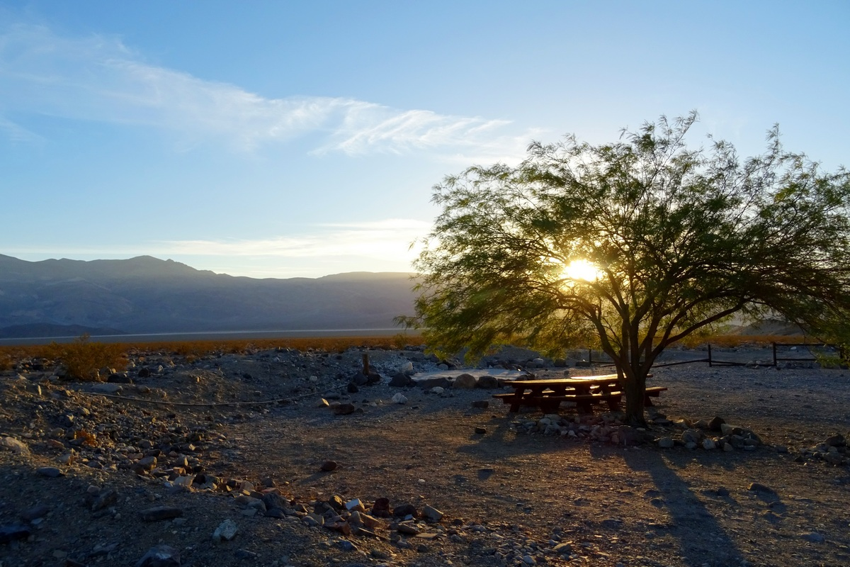 Death Valley Camping Destinations