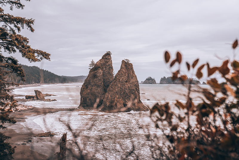 Rialto Beach Camping in the United States