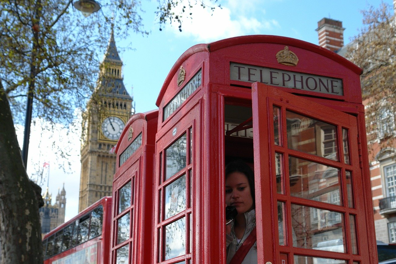 Big Ben Red Phone Booth
