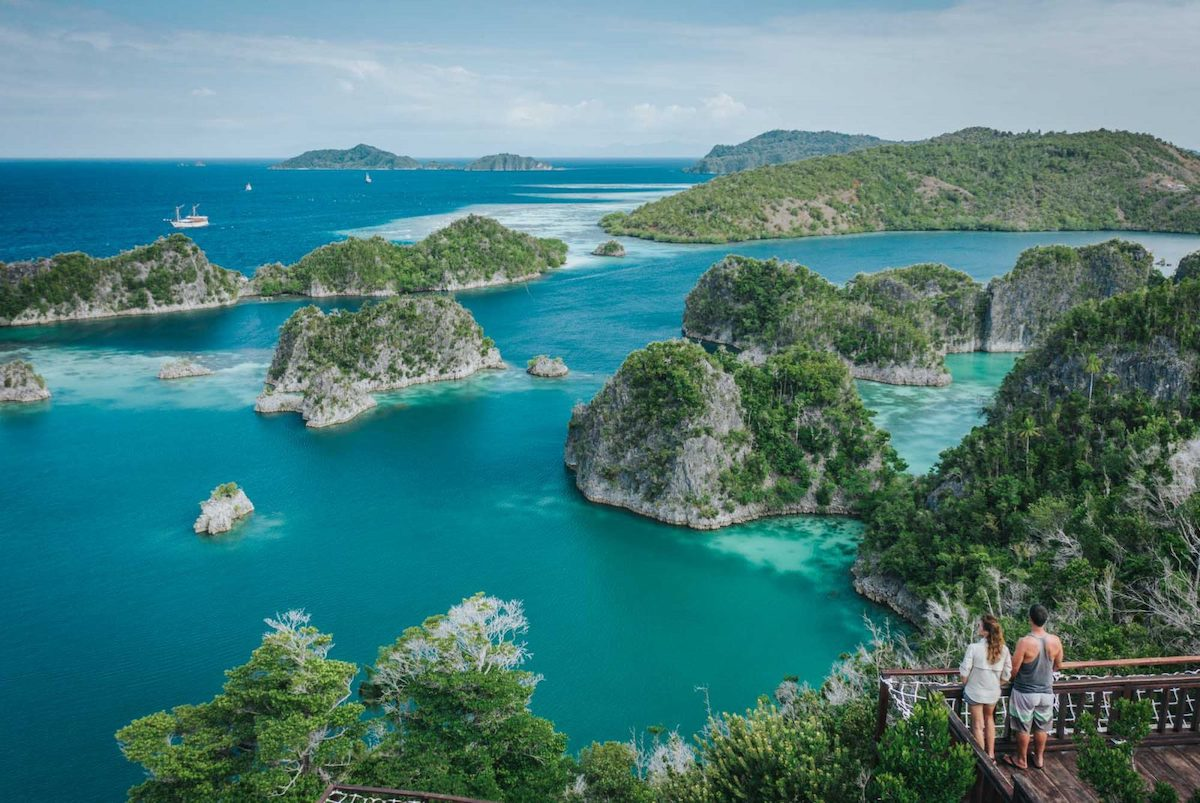 Raja Ampat best vacation spots around the world