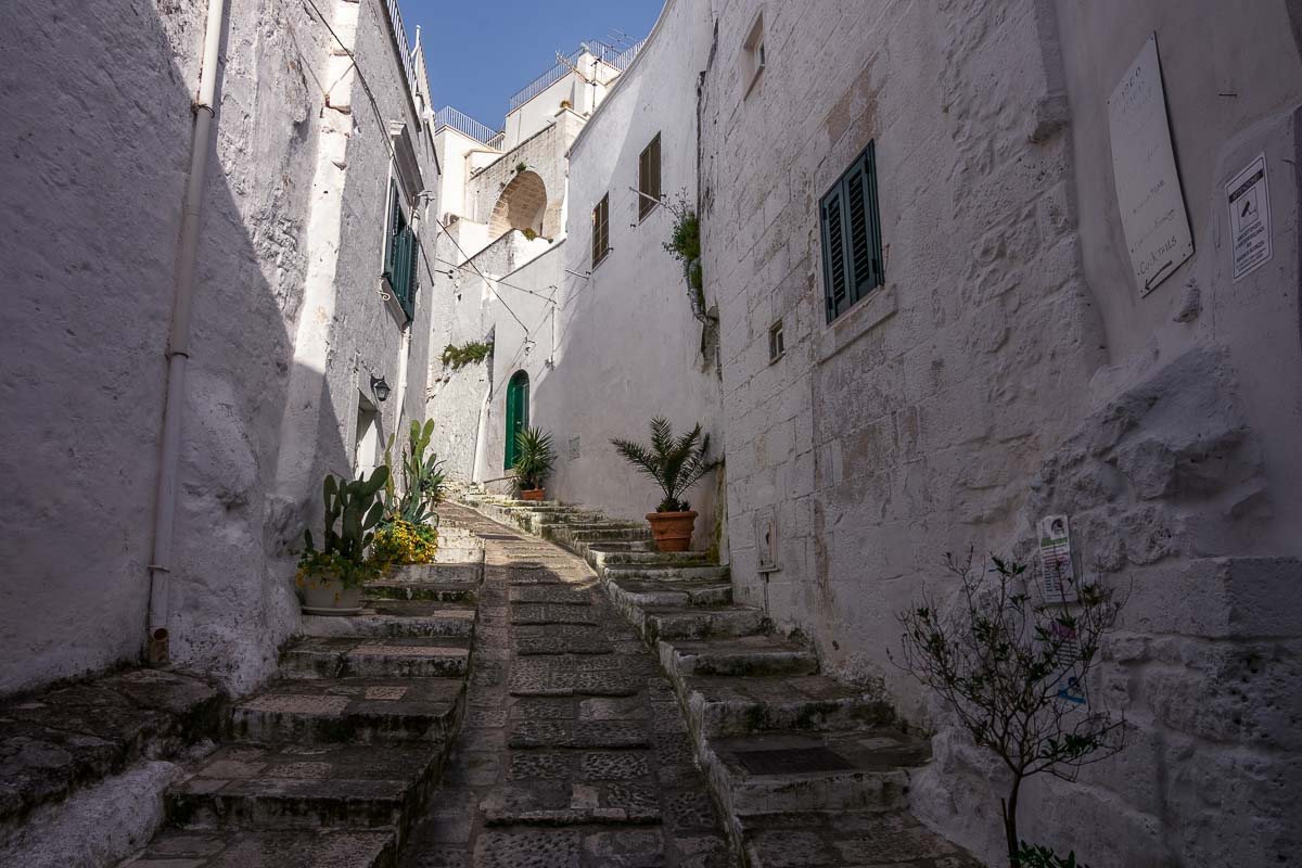 Beautiful cities of italy Ostuni