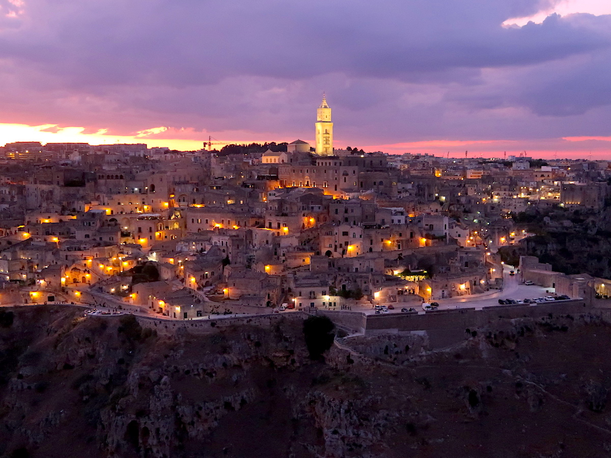 top places to travel in italy Matera