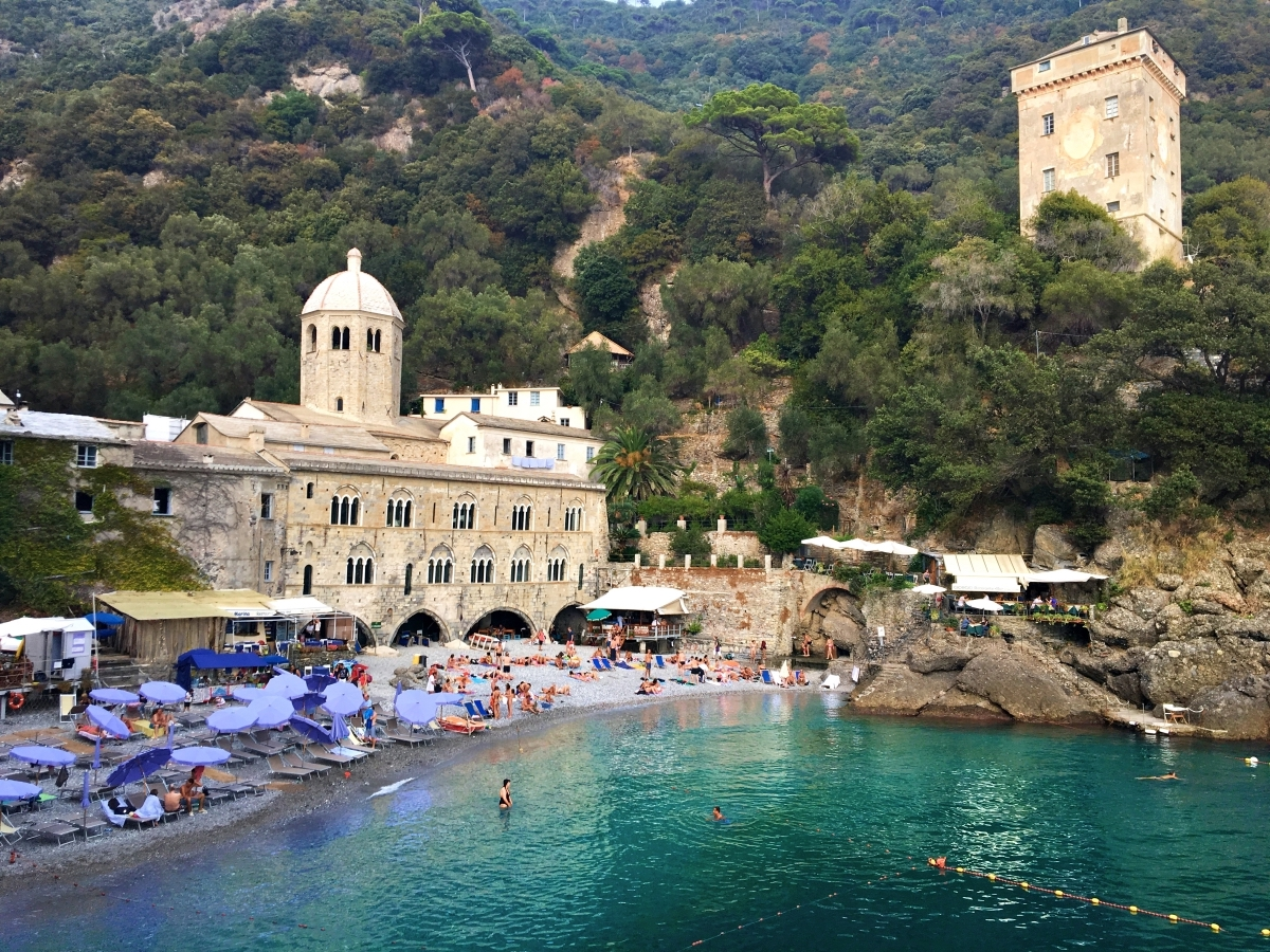 nice places in italy to visit San Fruttuoso