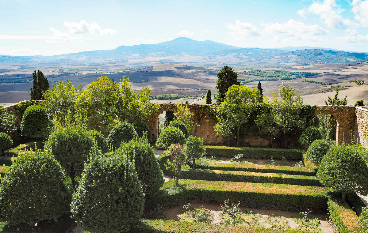 best travel destinations in italy Pienza