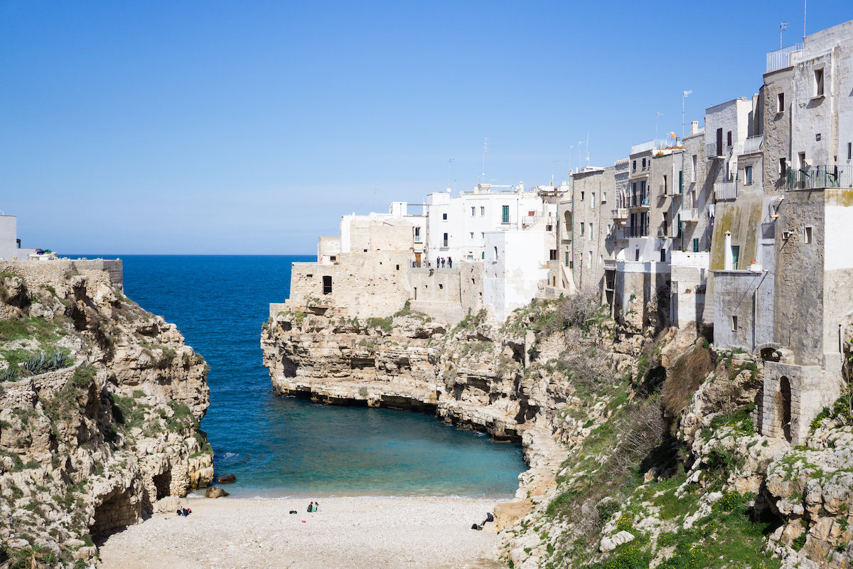 nice places to visit in italy-Polignano a Mare