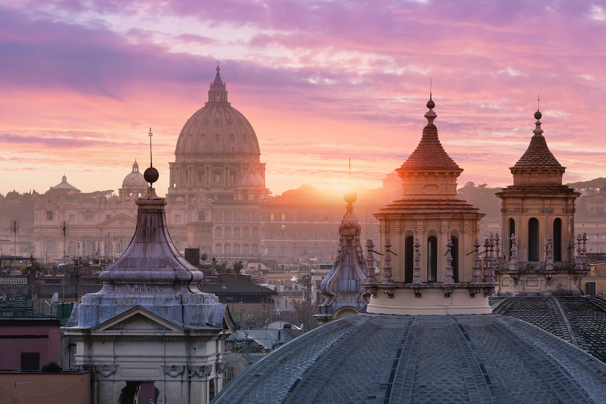 top five places to visit in italy-Rome