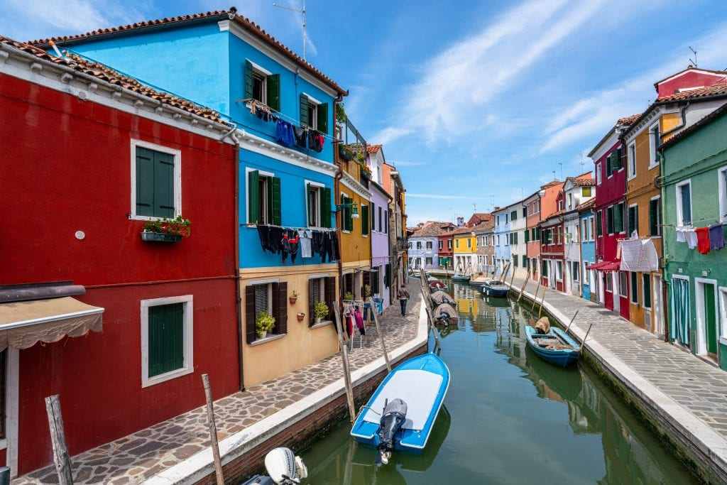 top cities in italy Burano