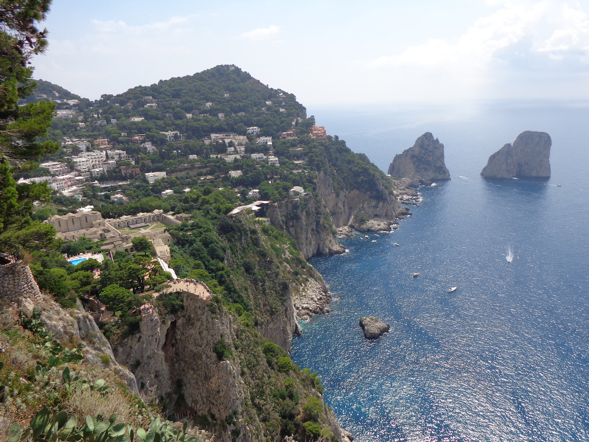 beautiful italy Capri Island