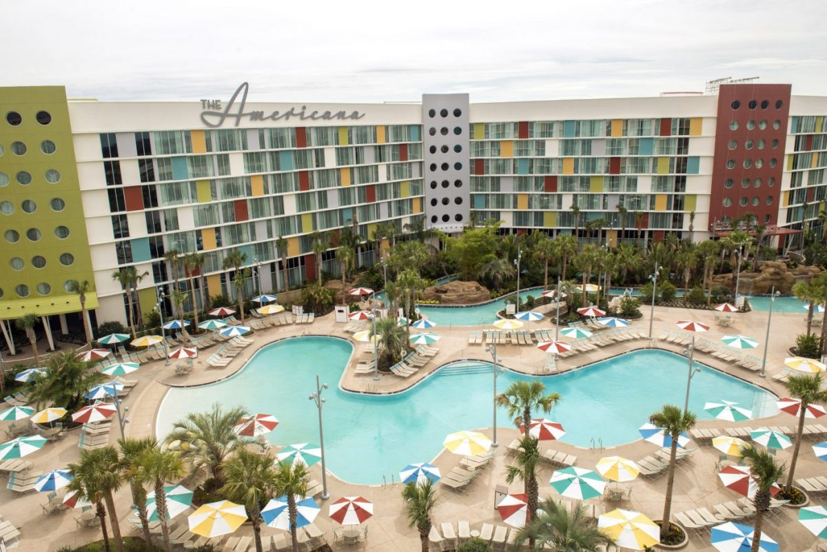 orlando hotels with lazy river