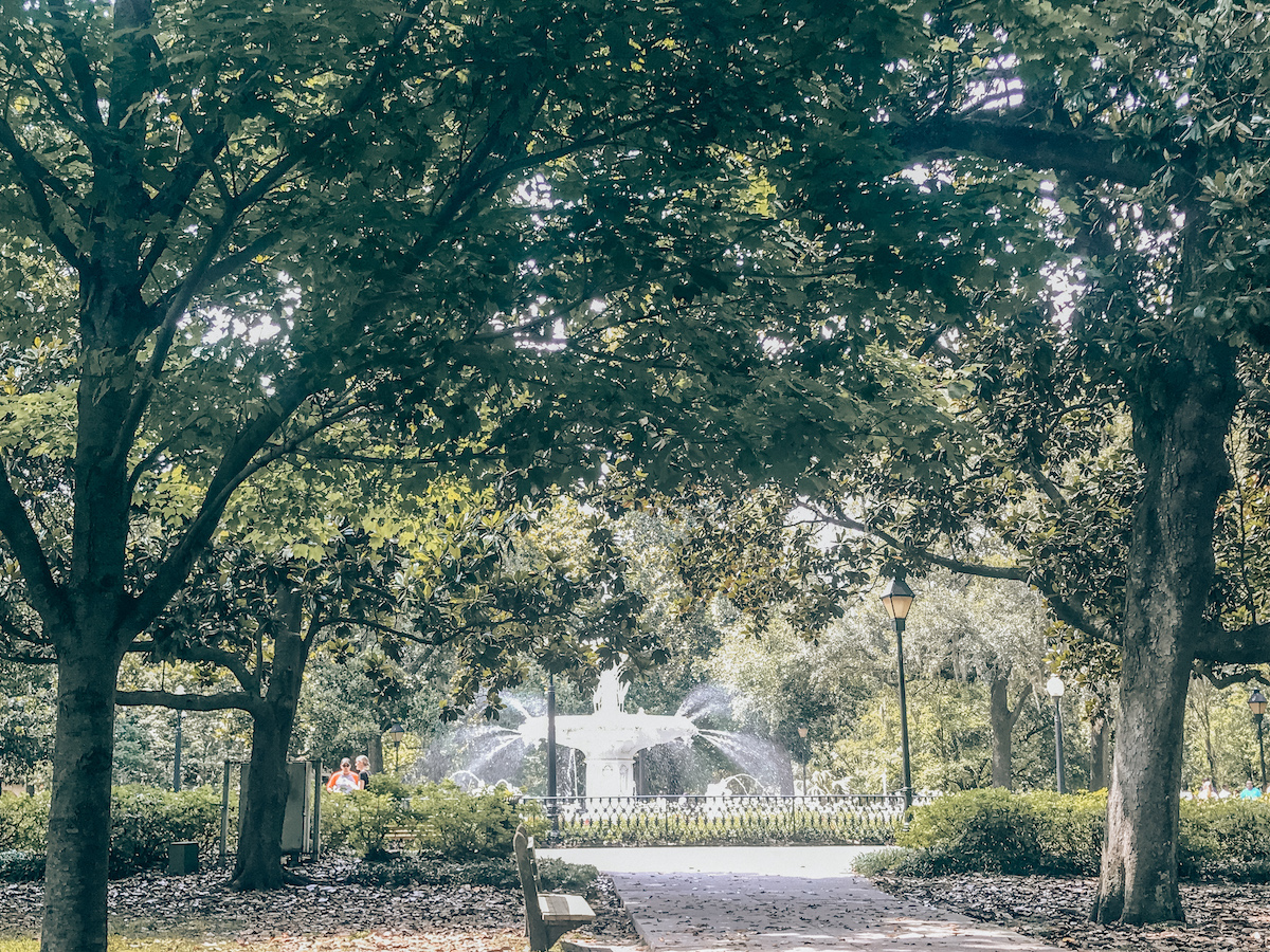 Savannah, Georgia-romantic getaways east coast