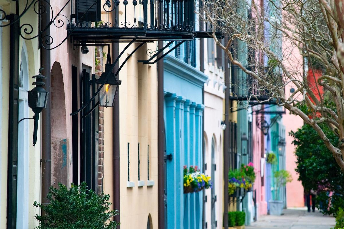 Charleston-east coast romantic getaways