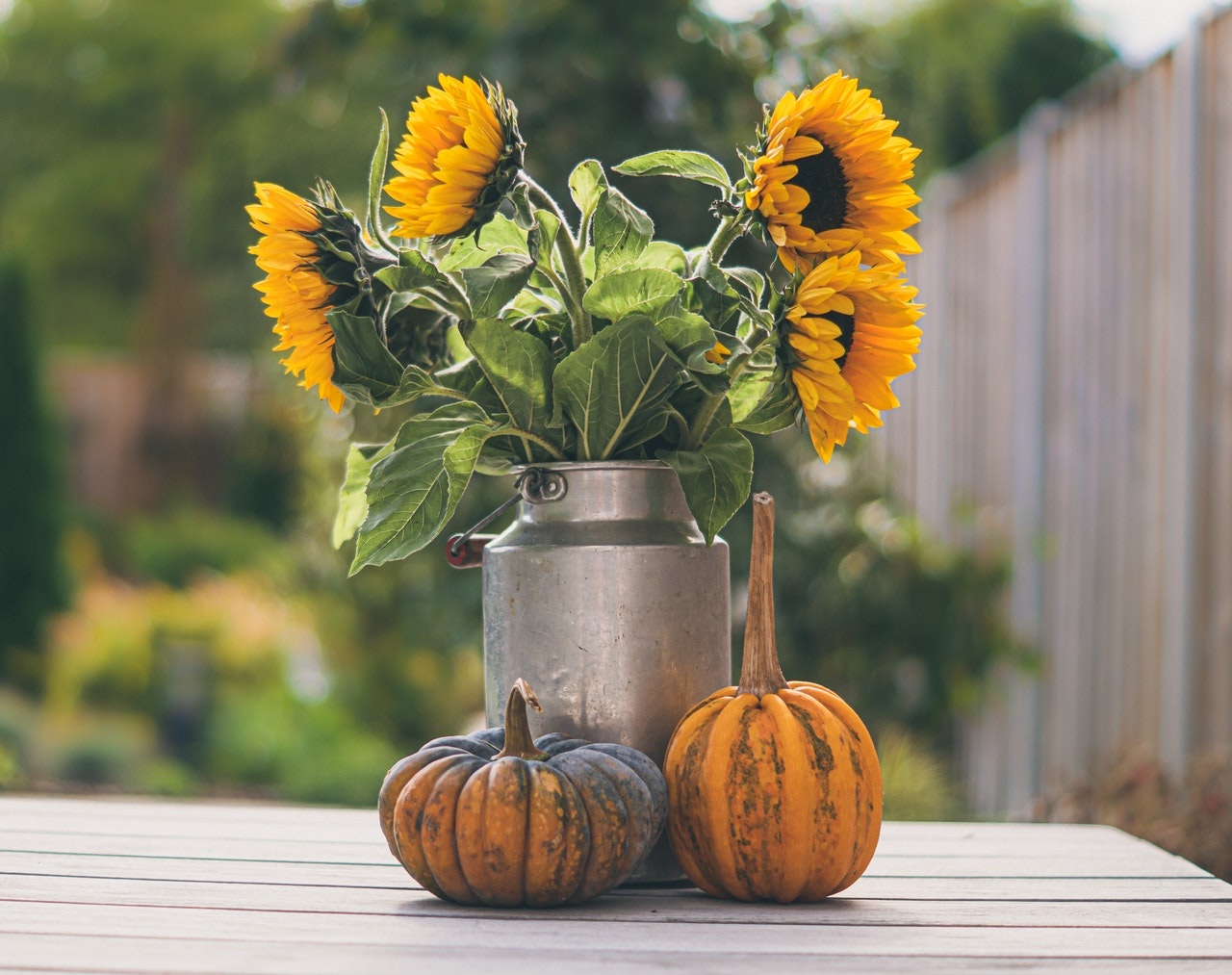 Decorating with fresh flowers this fall