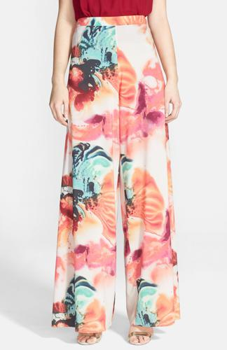 Colorful Wide Leg Pants rented from Armoire Style