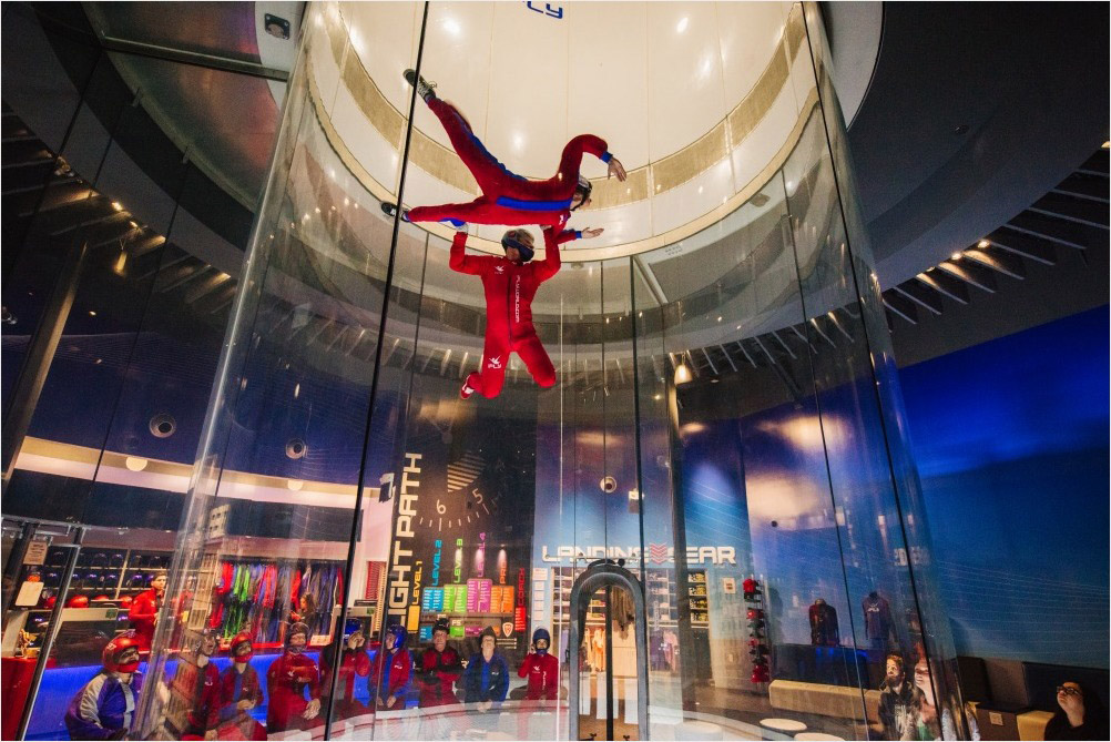 iThings to do in Orlando for Adults-FLY Orlando Indoor Skydiving high flight