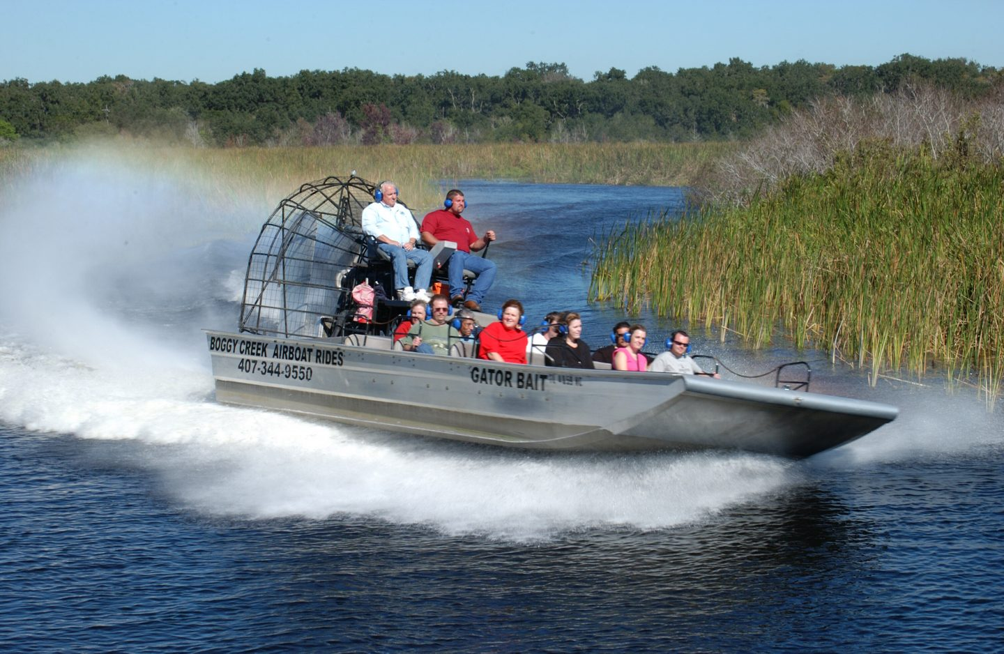 Things to do in Orlando- Boggy Creek Airboat Rides at Southport Park