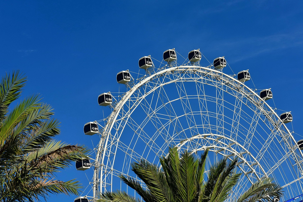 Things to do in Orlando for Adults. Picture of The Wheel in Icon Park