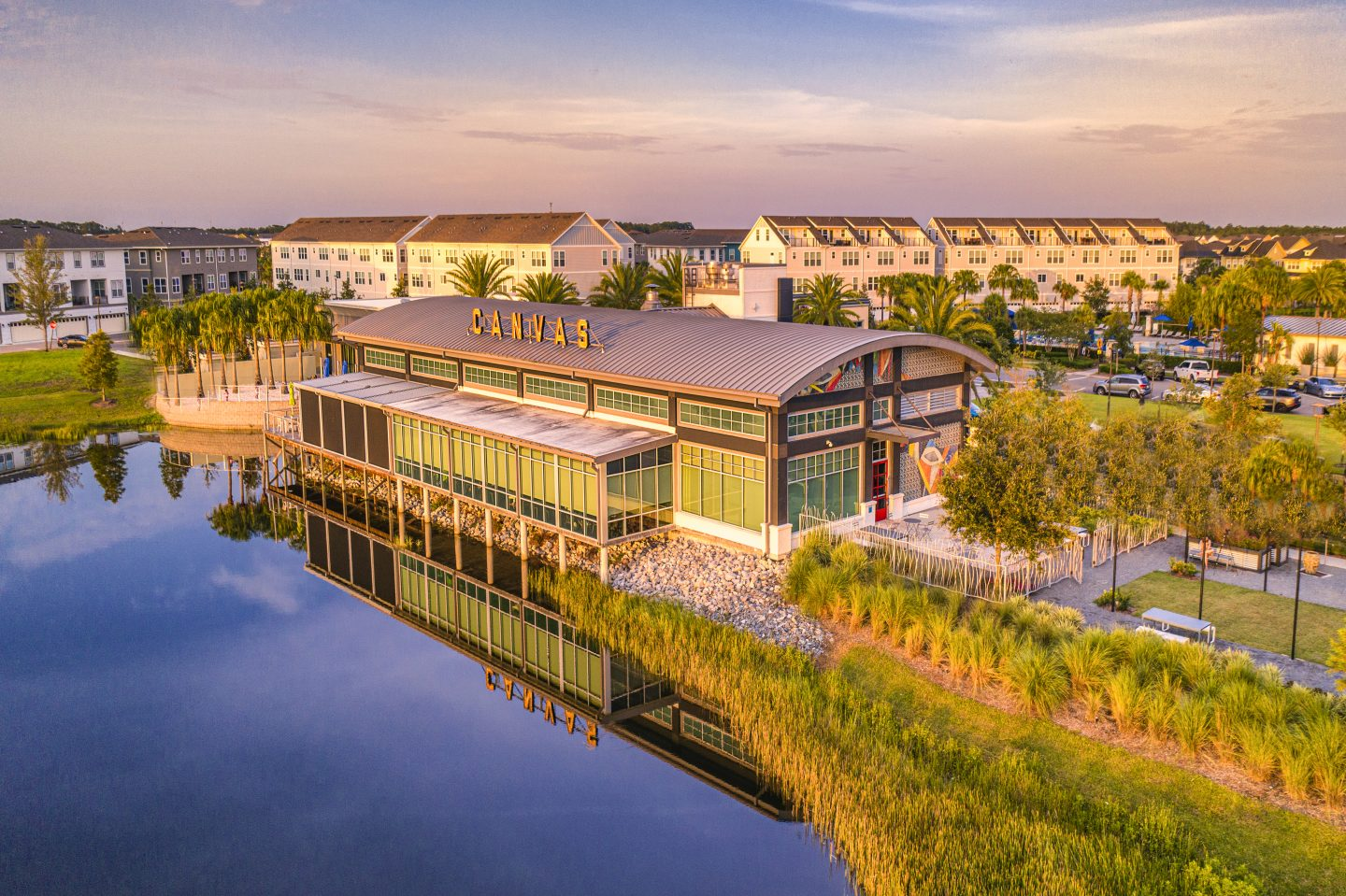 Things to do in Orlando for Adults- Canvas Restaurant in Lake Nona