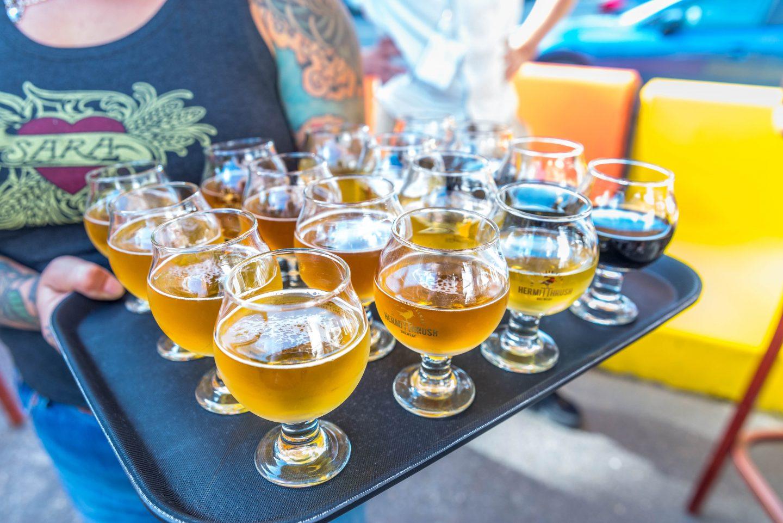 Sour Beer Tasting at Hermit Thrush in Brattleboro, VT