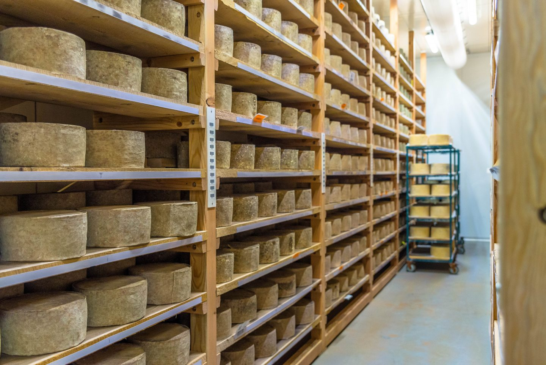 Cheese at the Grafton Cheese Company