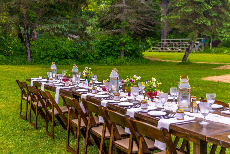 Outdoor Dining at the Grafton Inn, Grafton, Vermont