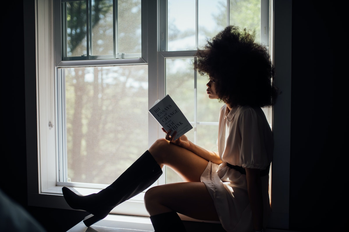 Staycation Ideas-Reading a good book