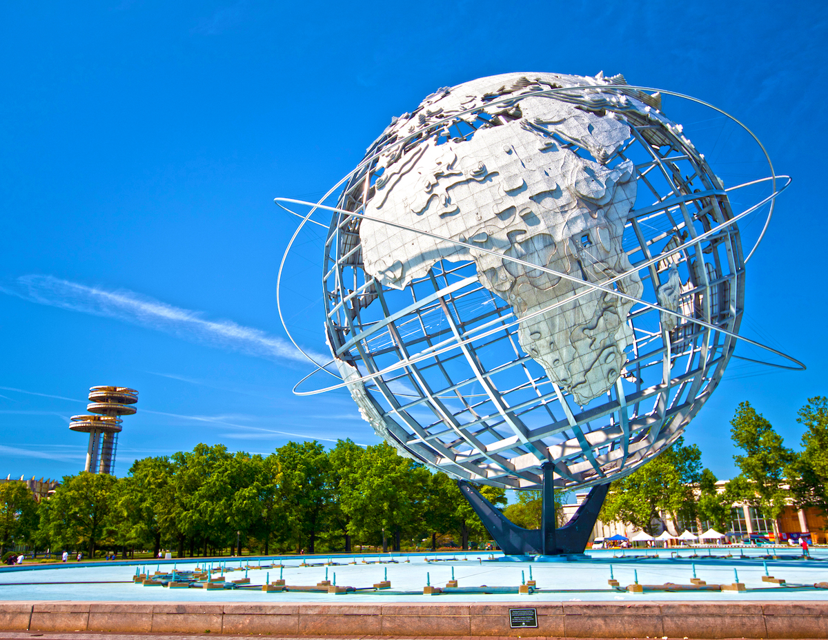 Visit Flushing Meadows Park in Queens during your NYC staycation